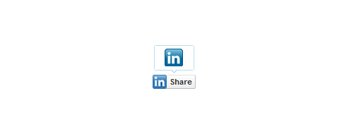 Linkedin: share   bubble  standard